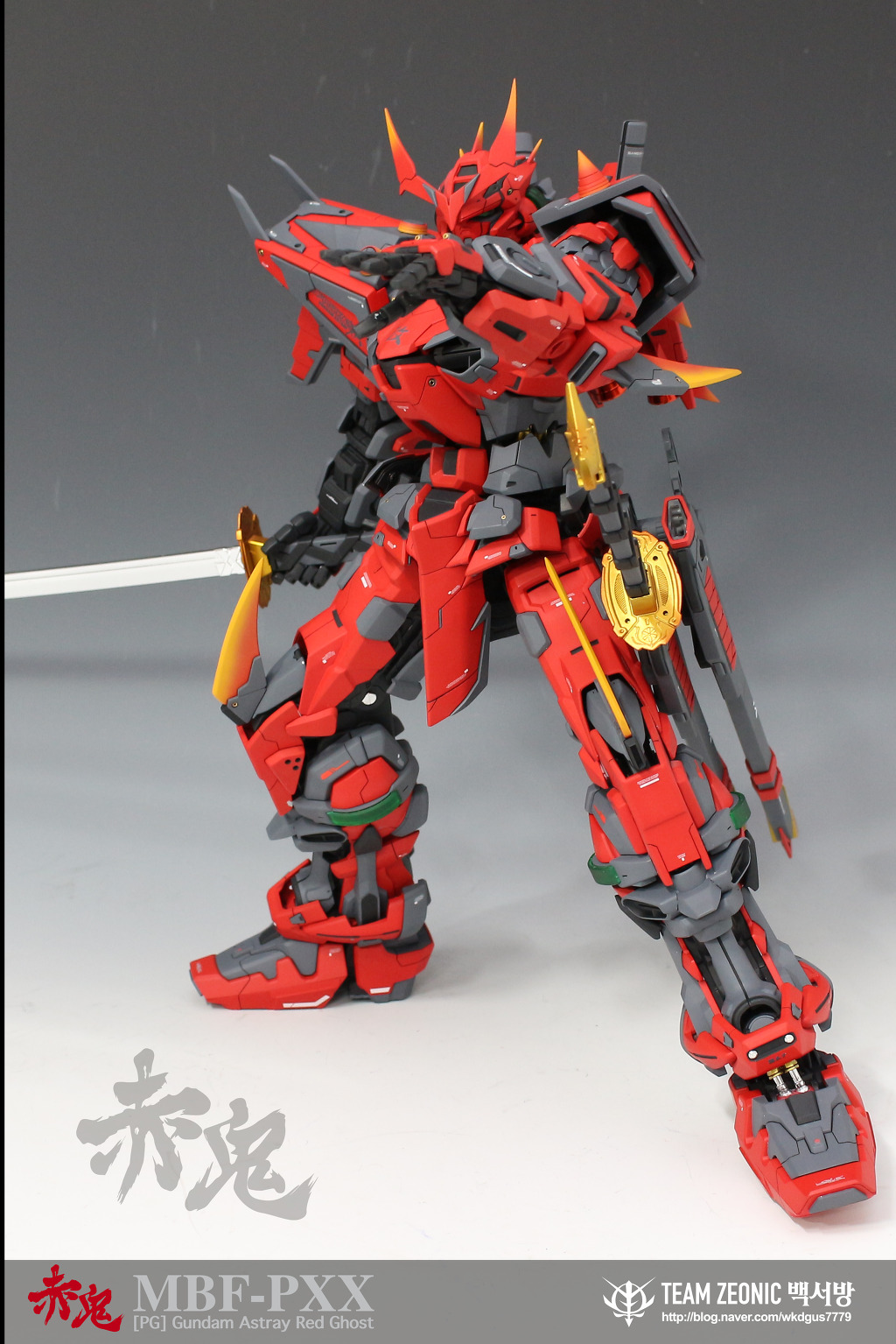 PG 1/60 Gundam Astray Red Ghost – Custom Build – All About ...